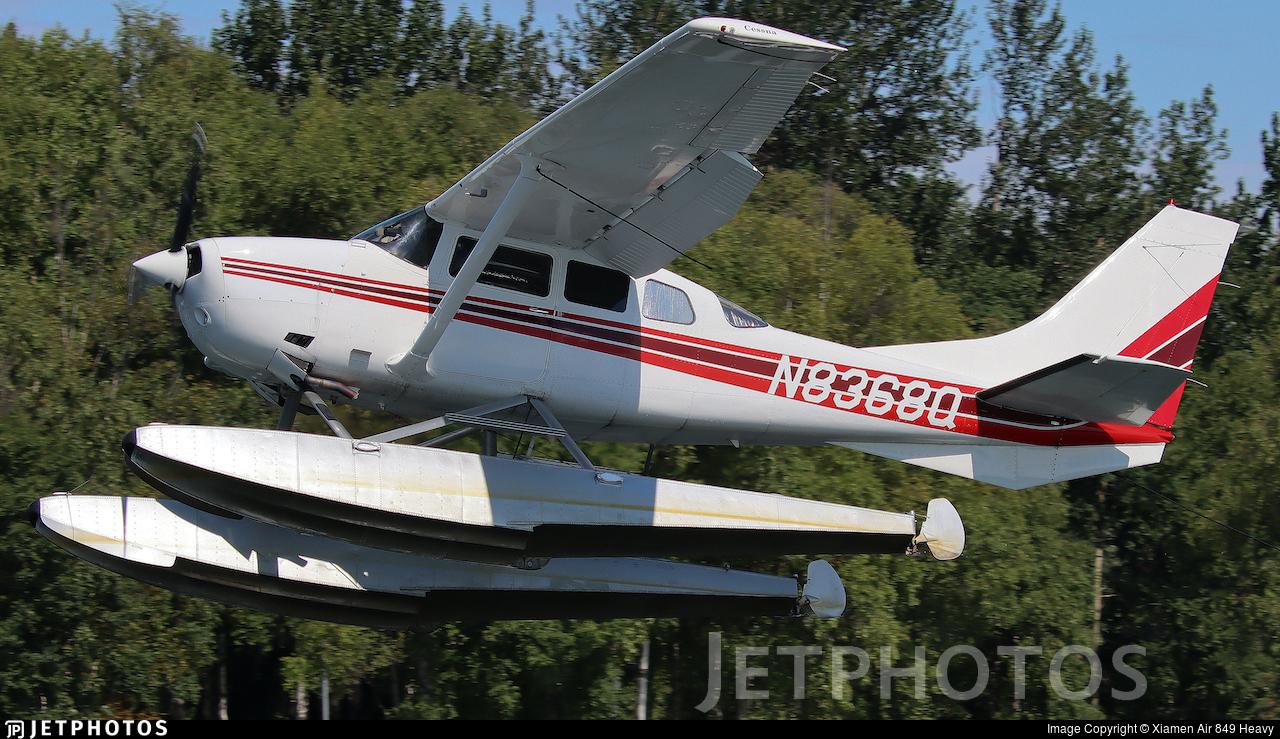 N8368Q - Cessna U206F Stationair - Private