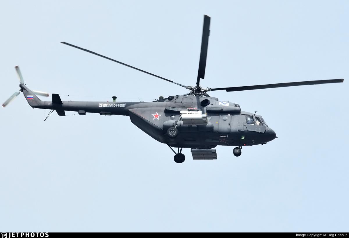 21 - Mil Mi-8AMTSh Hip - Russia - Navy