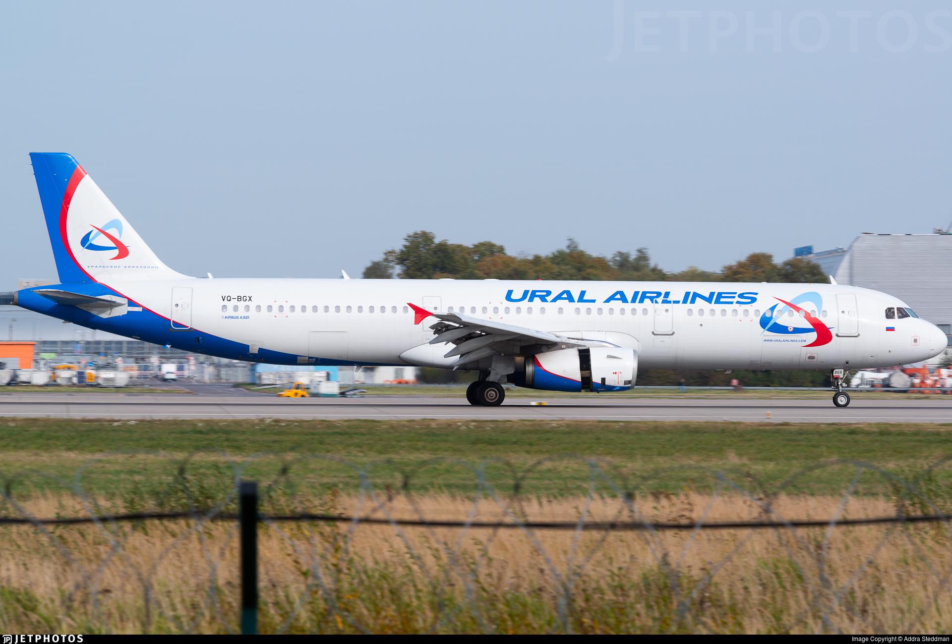 VQ-BGX - Airbus A321-231 - Ural Airlines