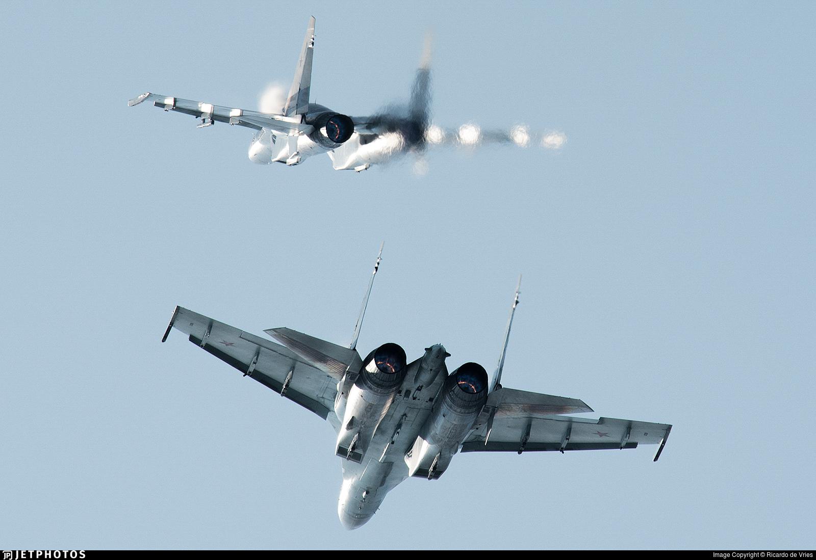 RF-95243 - Sukhoi Su-35S - Russia - Air Force