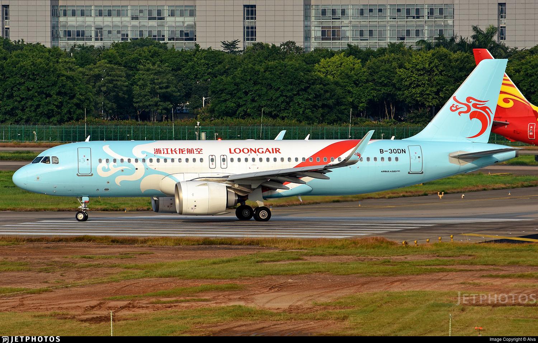 B-30DN - Airbus A320-251N - Loong Air