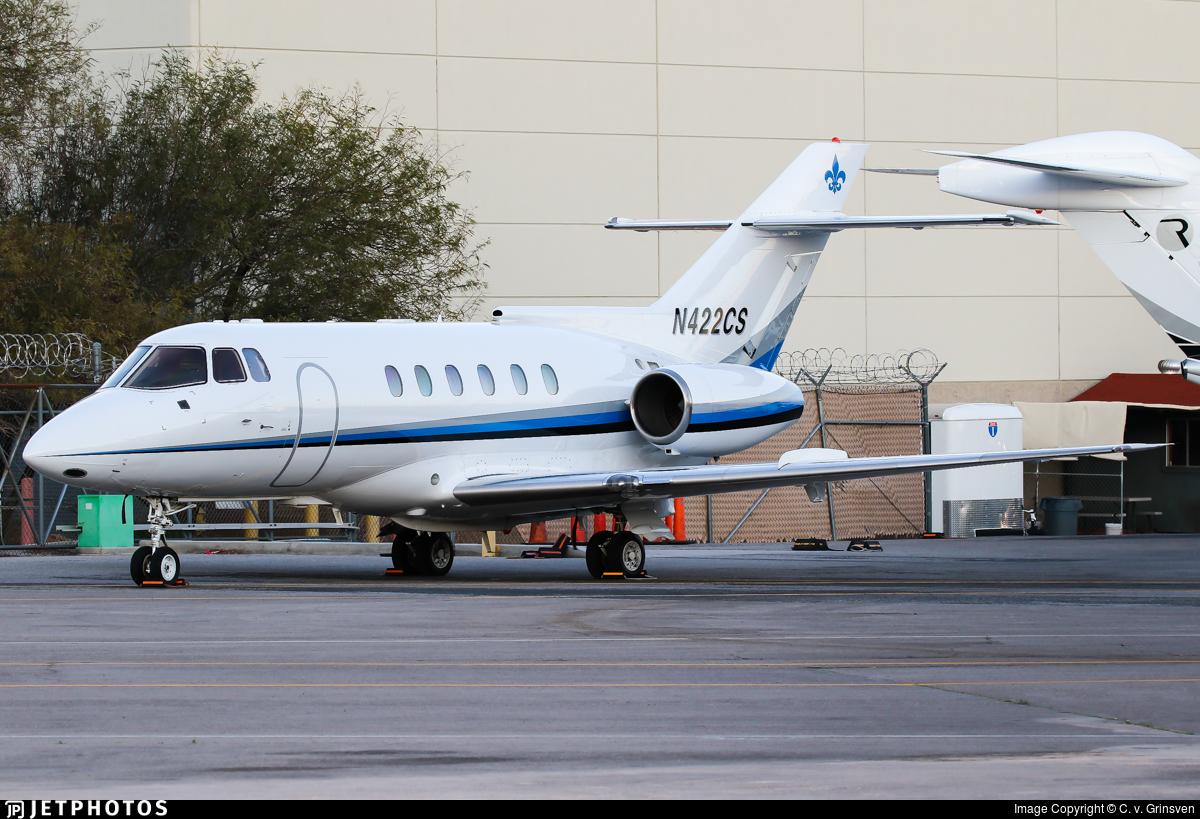 N422CS - British Aerospace BAe 125-800A - Private