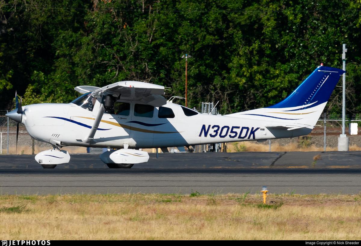N305DK - Cessna 206H Stationair - United States - Washington State Patrol