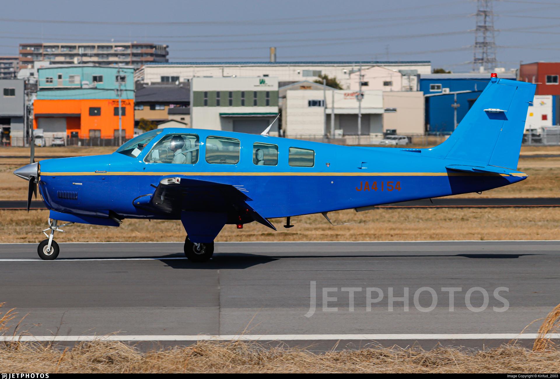JA4154 - Beechcraft A36 Bonanza - Private