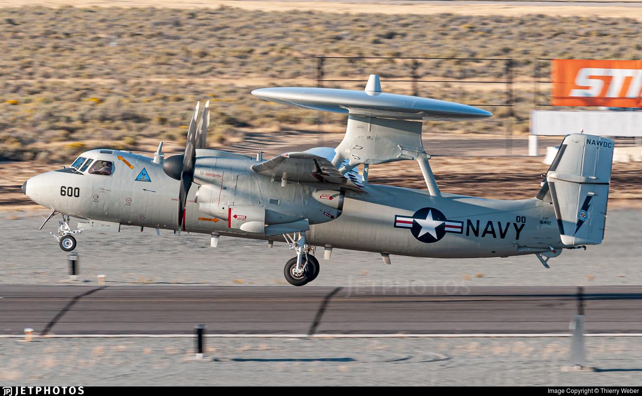 164112 - Grumman E-2C+ Hawkeye 2000 - United States - US Navy (USN)
