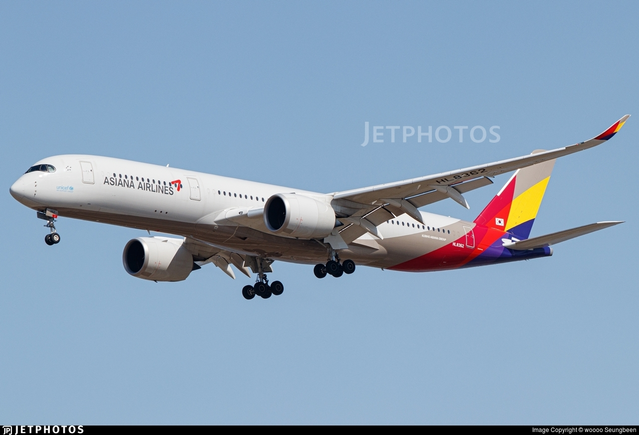 HL8362 - Airbus A350-941 - Asiana Airlines