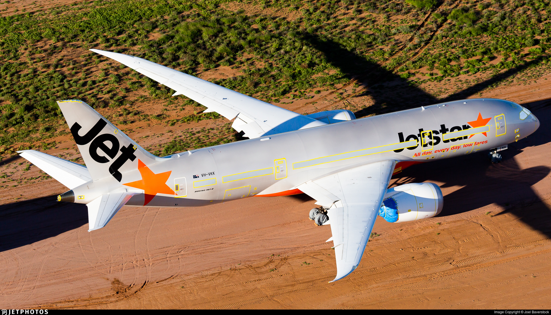 VH-VKK - Boeing 787-8 Dreamliner - Jetstar Airways