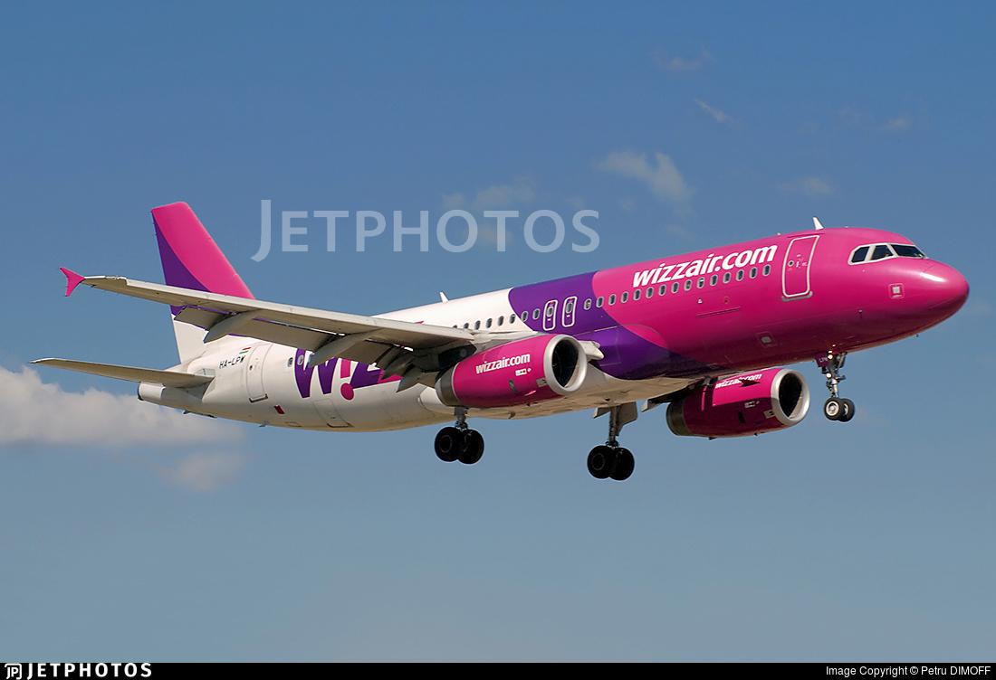 HA-LPW - Airbus A320-232 - Wizz Air