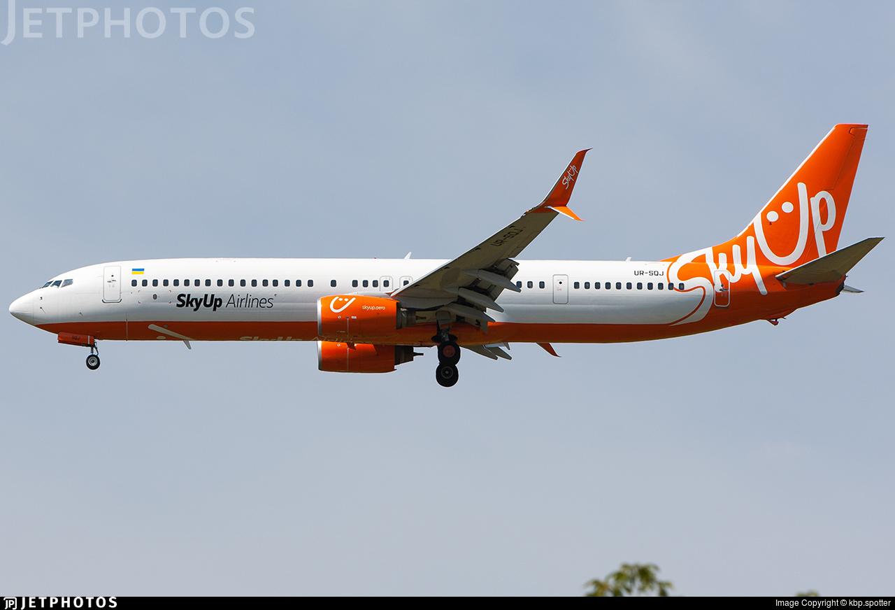 UR-SQJ - Boeing 737-96NER - SkyUp Airlines