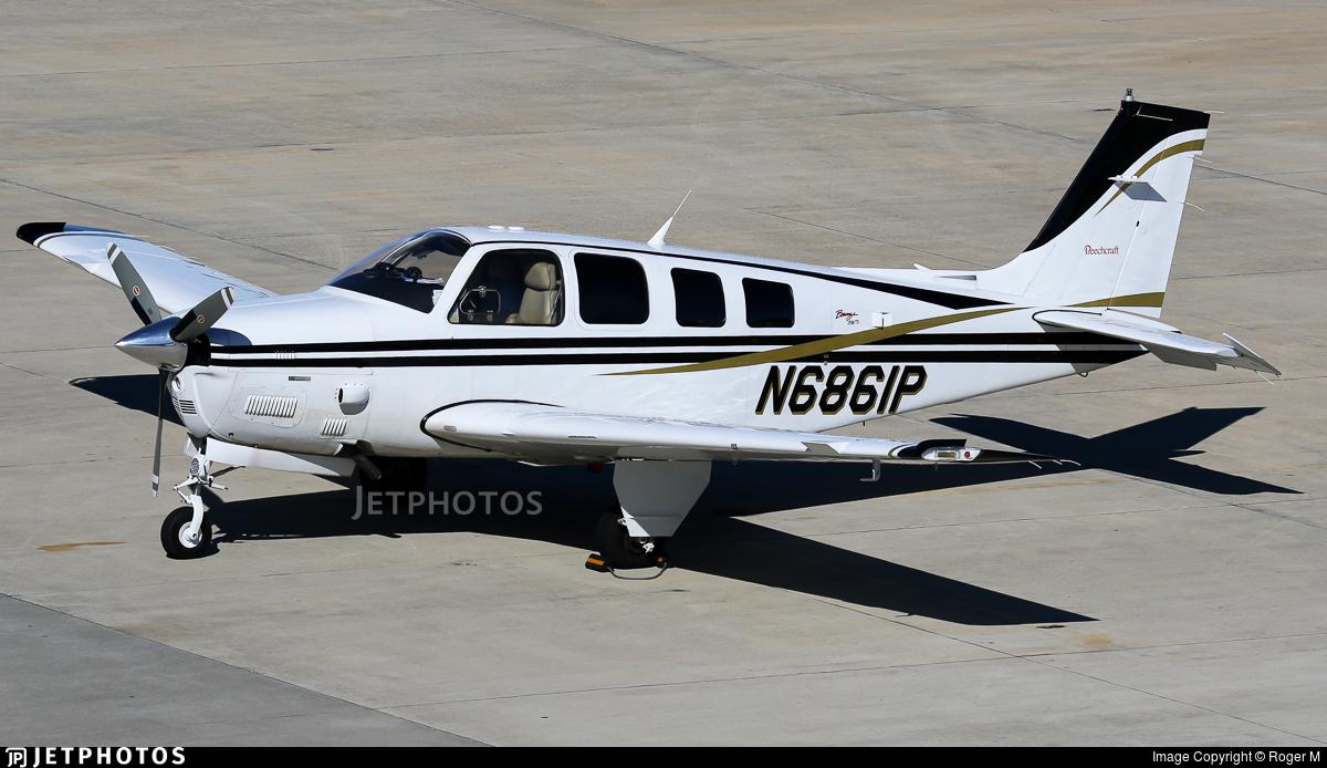 N6861P  - Beechcraft B36TC Bonanza - Private