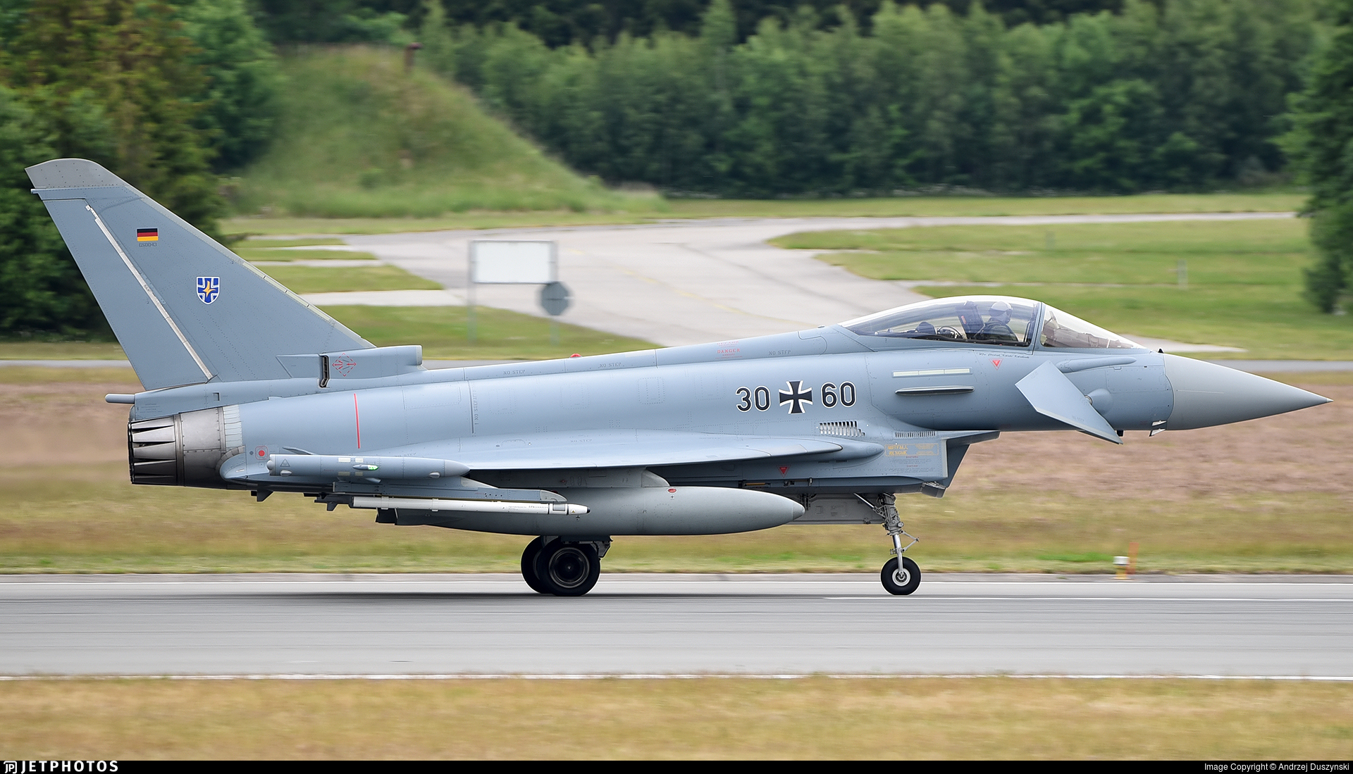 30-60 - Eurofighter Typhoon EF2000 - Germany - Air Force