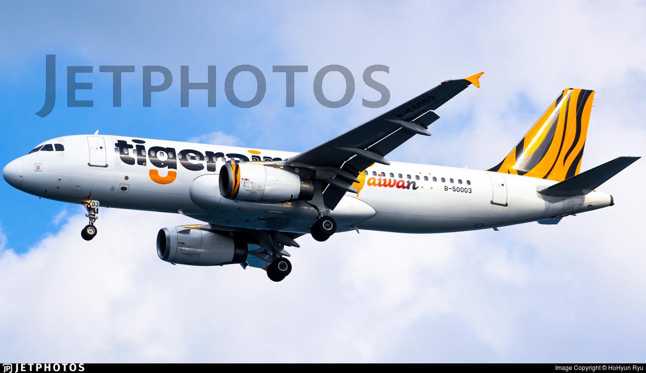 B-50003 - Airbus A320-232 - Tigerair Taiwan