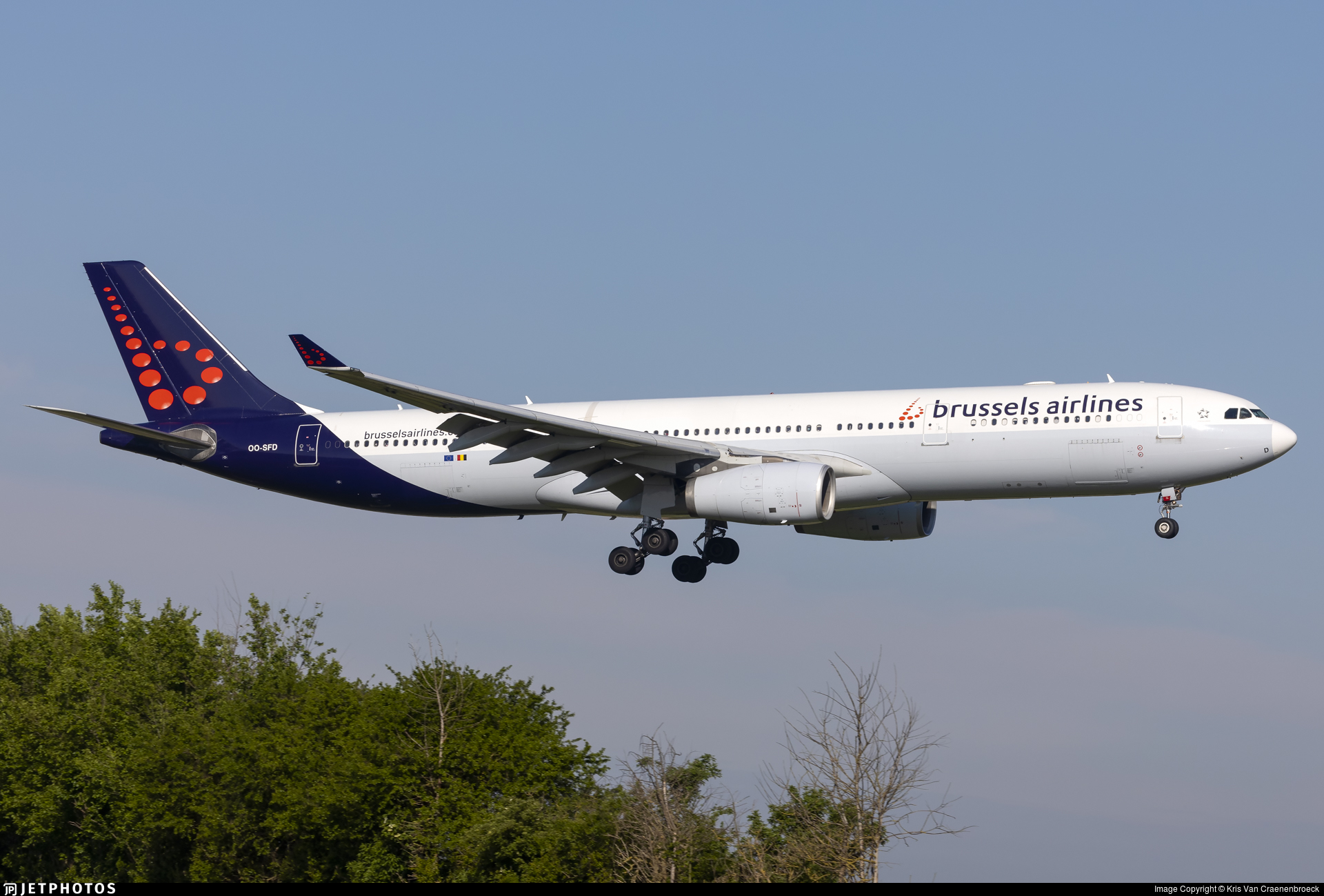 OO-SFD - Airbus A330-343 - Brussels Airlines