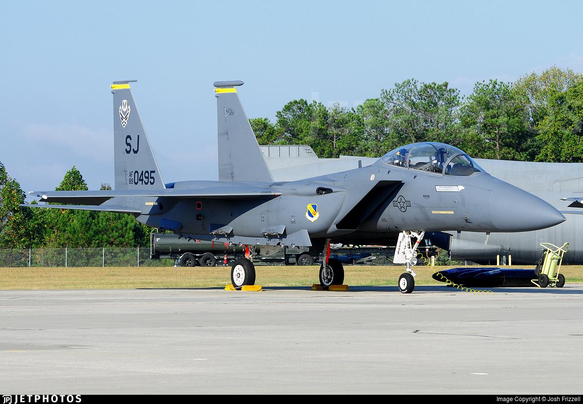 89-0495 - McDonnell Douglas F-15E Strike Eagle - United States - US Air Force (USAF)