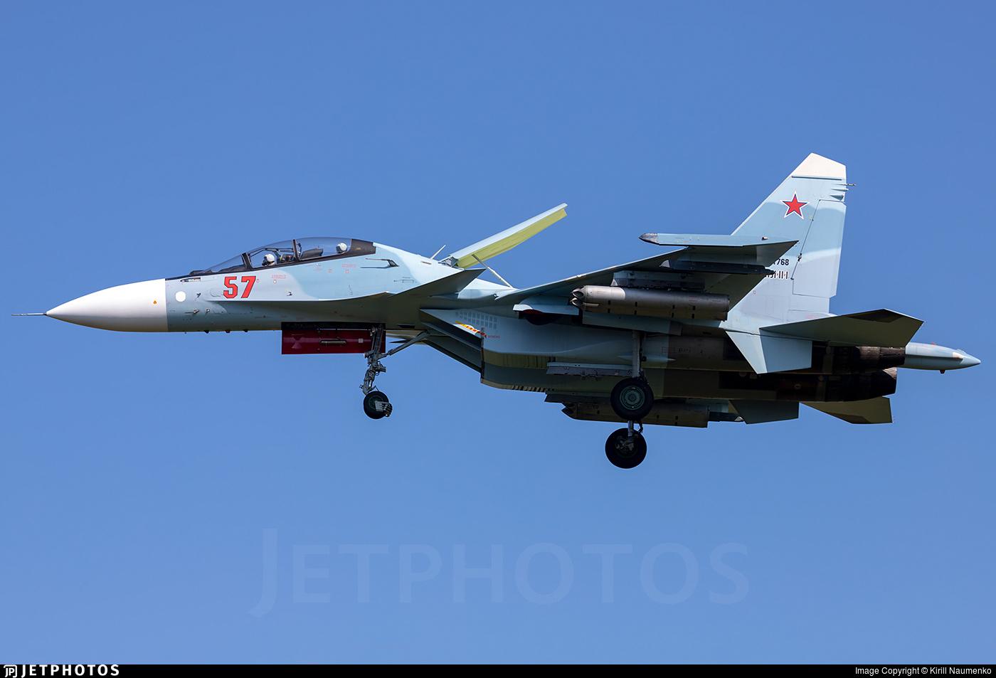 RF-81768 - Sukhoi Su-30SM - Russia - Air Force