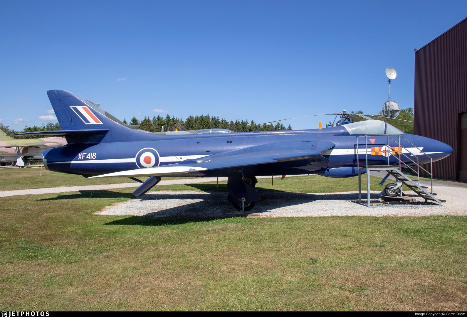 XF418 - Hawker Hunter F.6A - United Kingdom - Royal Air Force (RAF)