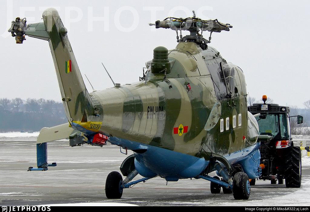 6W-HCA - Mil Mi-24V Hind E - Senegal - Air Force