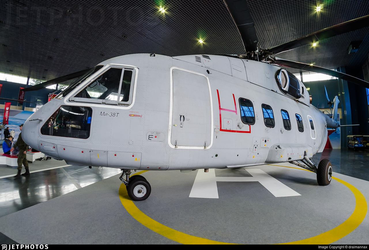 38015 - Mil Mi-38T - Kazan Helicopter Plant