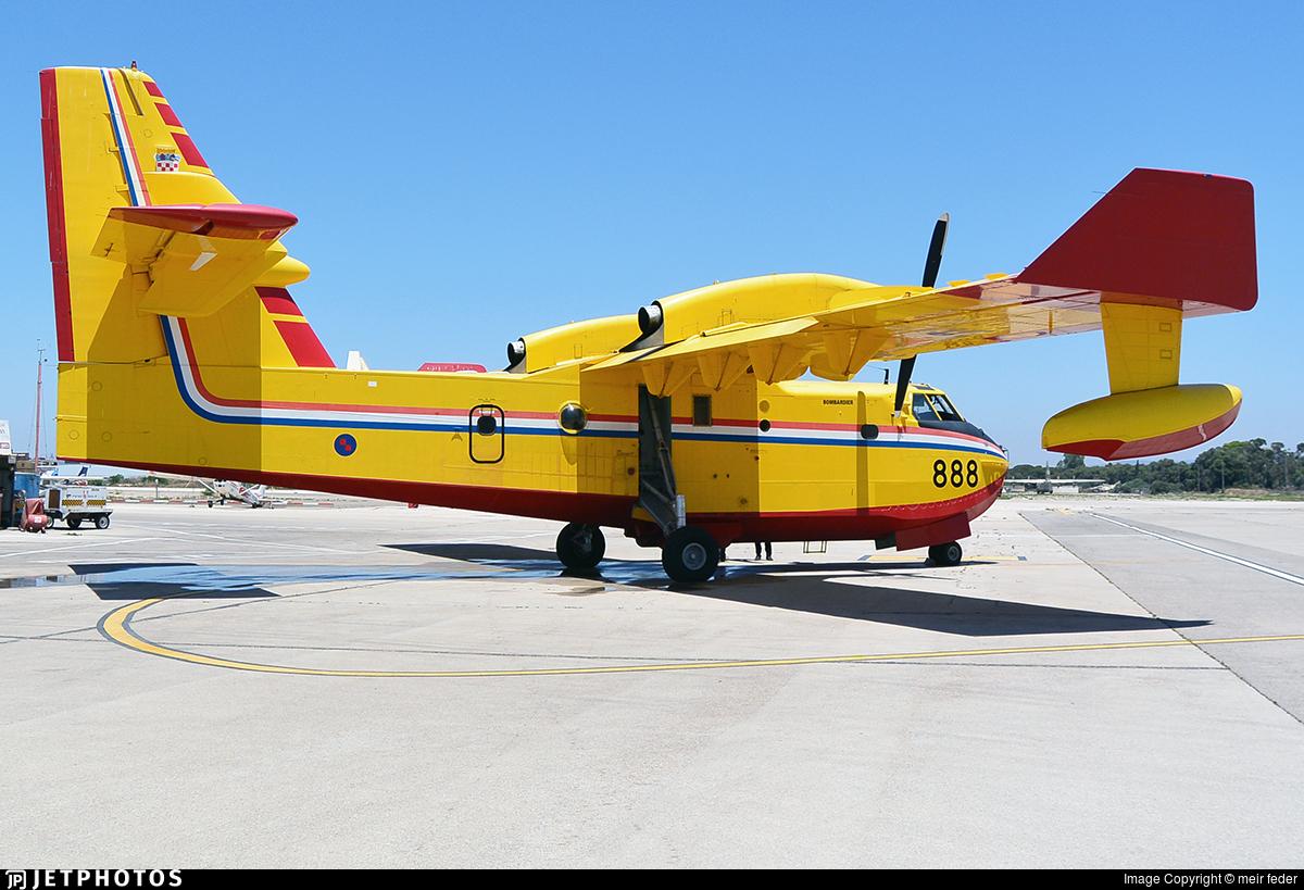 888 - Canadair CL-415 - Croatia - Air Force