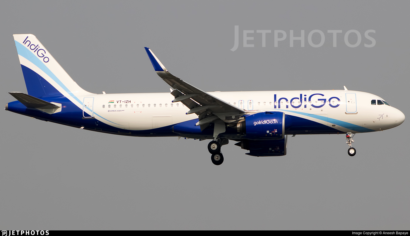 VT-IZH - Airbus A320-271N - IndiGo Airlines