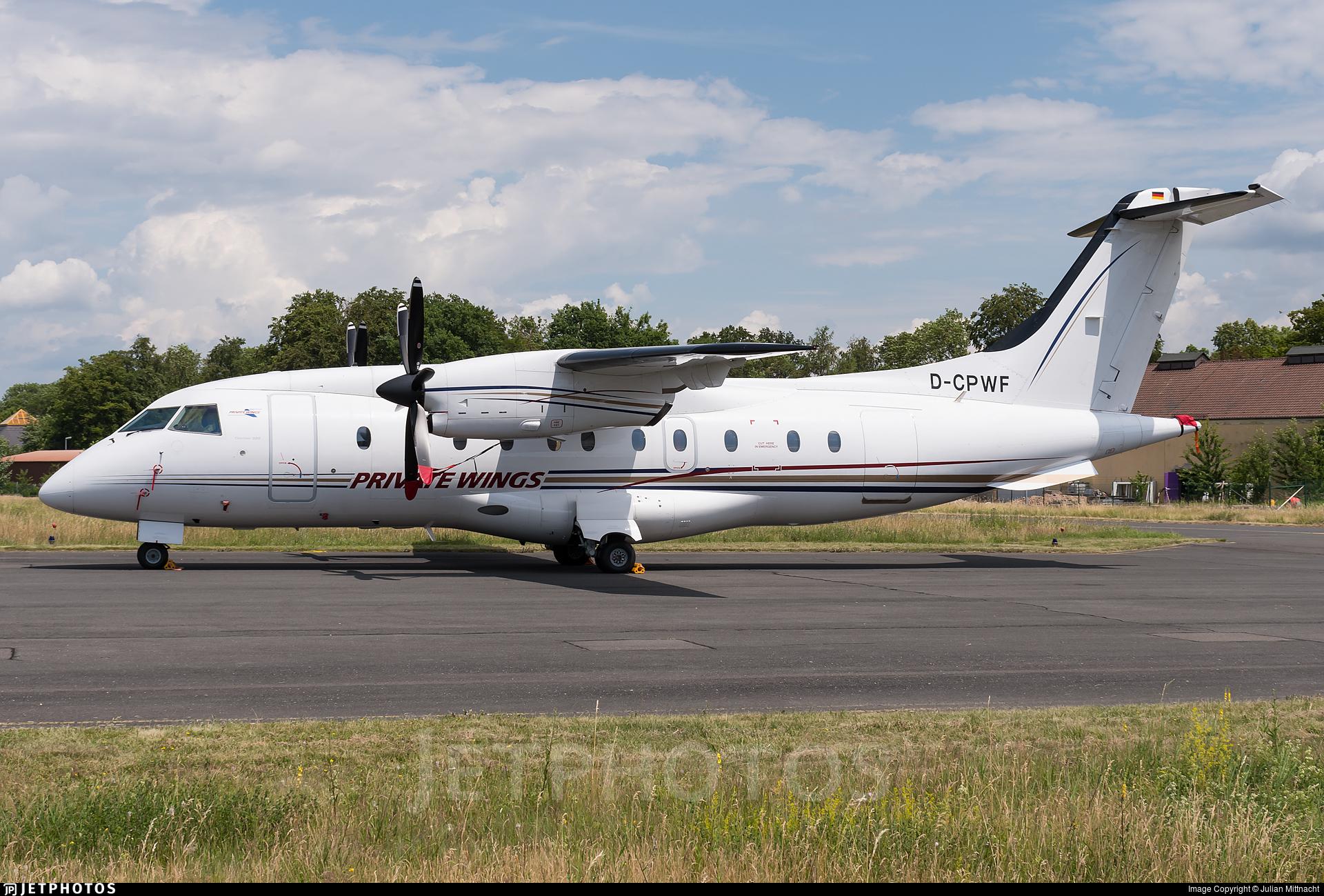 D-CPWF - Dornier Do-328-100 - Private Wings