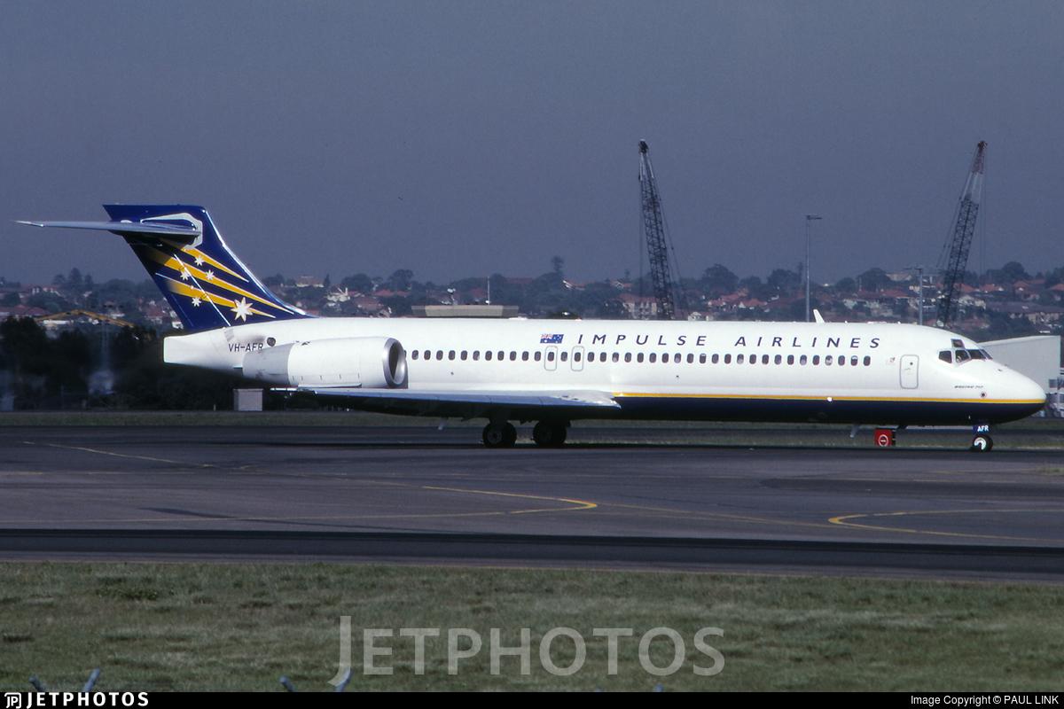 VH-AFR - Boeing 717-23S - Impulse Airlines