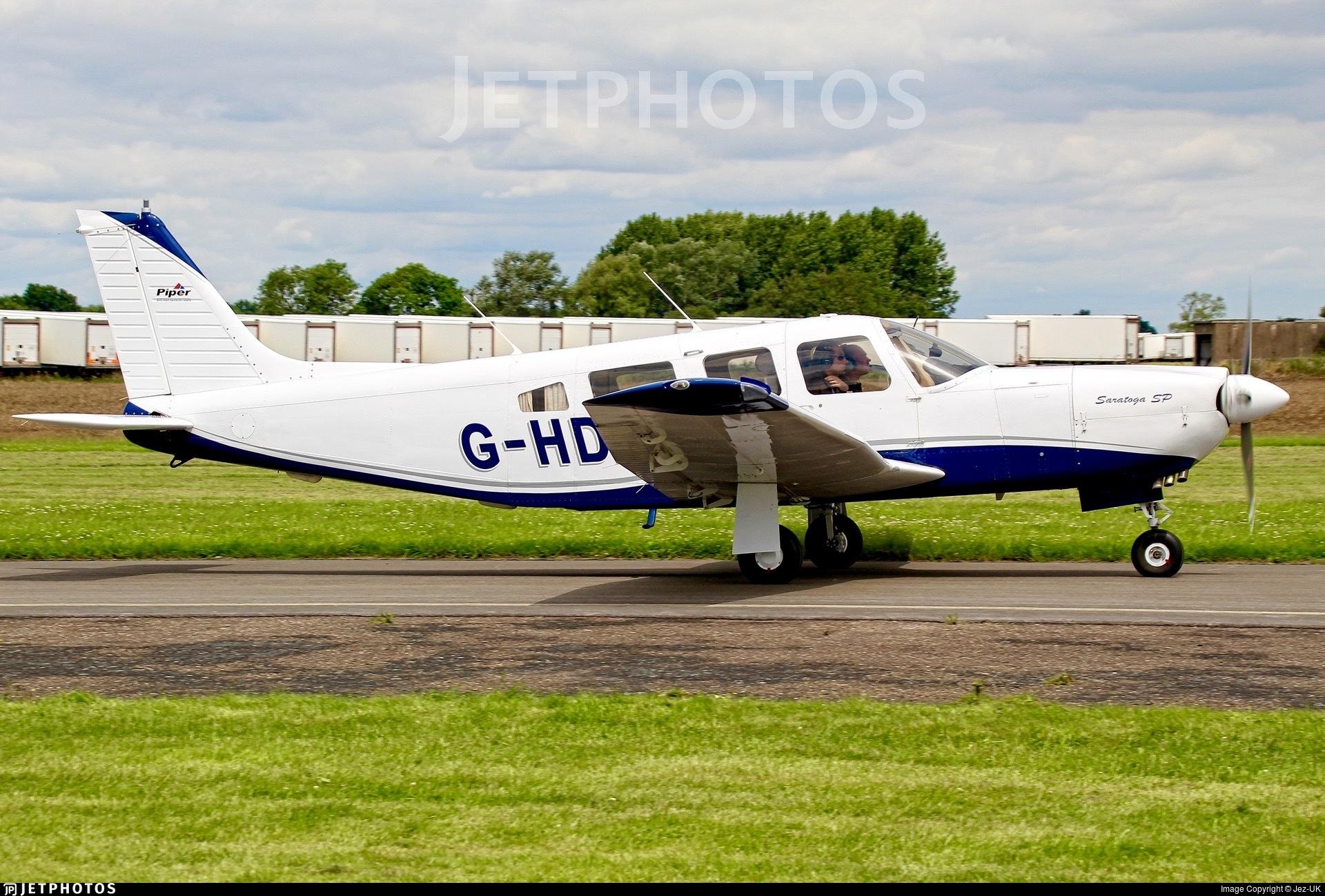 G-HDEW - Piper PA-32R-301 Saratoga SP - Private
