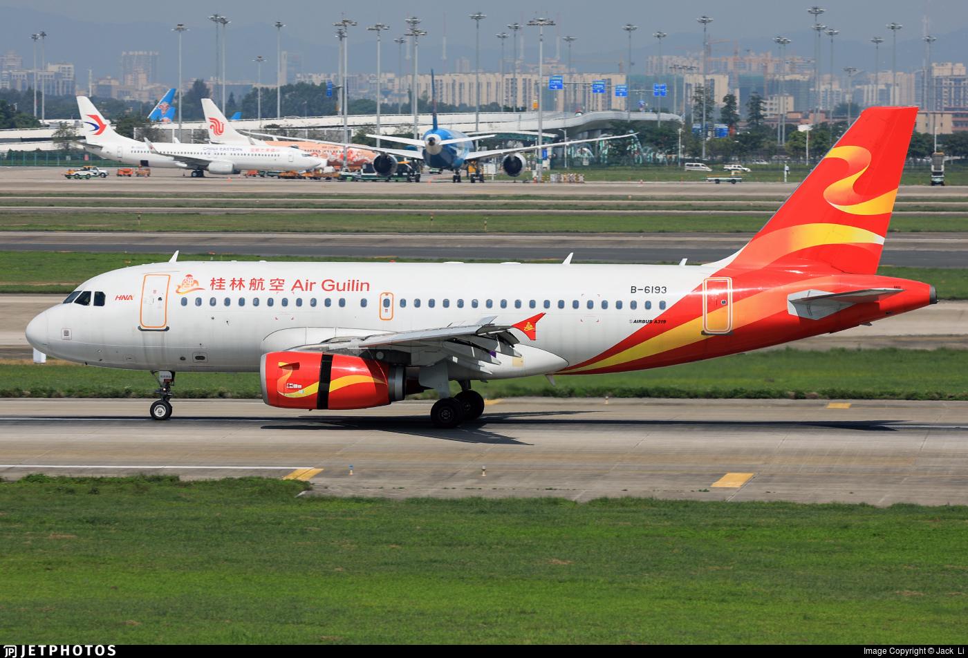 B-6193 - Airbus A319-133 - Air Guilin