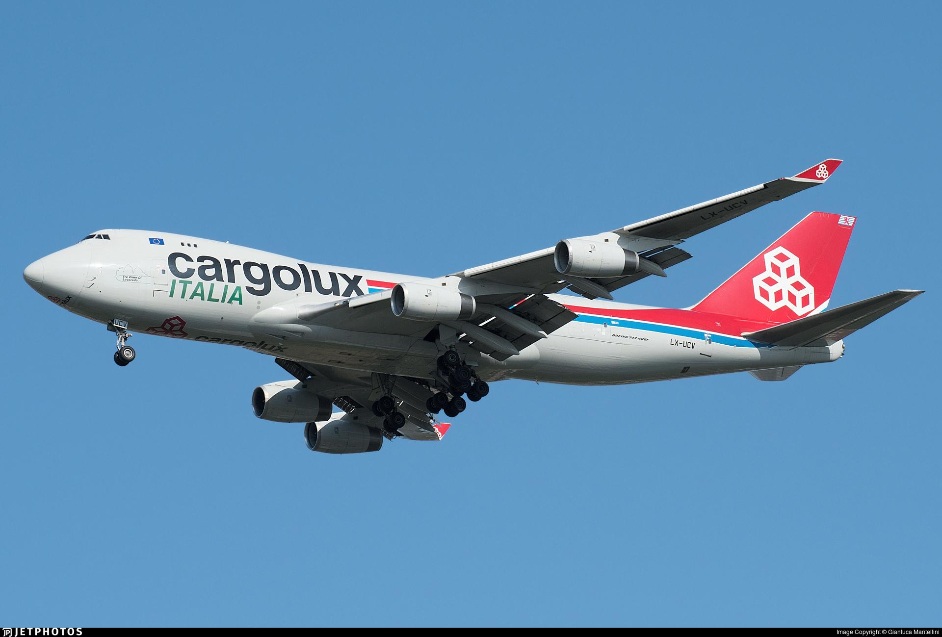 LX-UCV - Boeing 747-4R7F(SCD) - Cargolux Italia Airlines