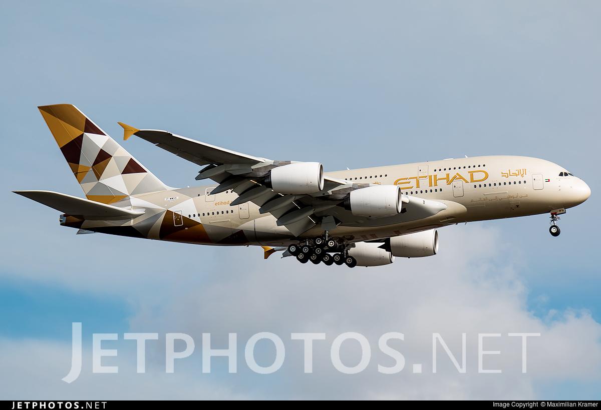 F-WWSS - Airbus A380-861 - Etihad Airways