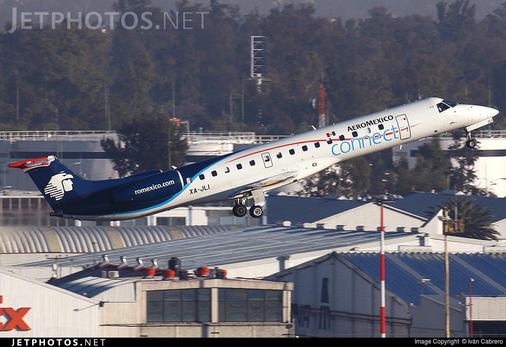 XA-JLI - Embraer ERJ-145LR - Aeroméxico Connect