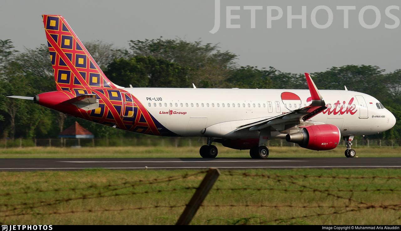 PK-LUO - Airbus A320-214 - Batik Air