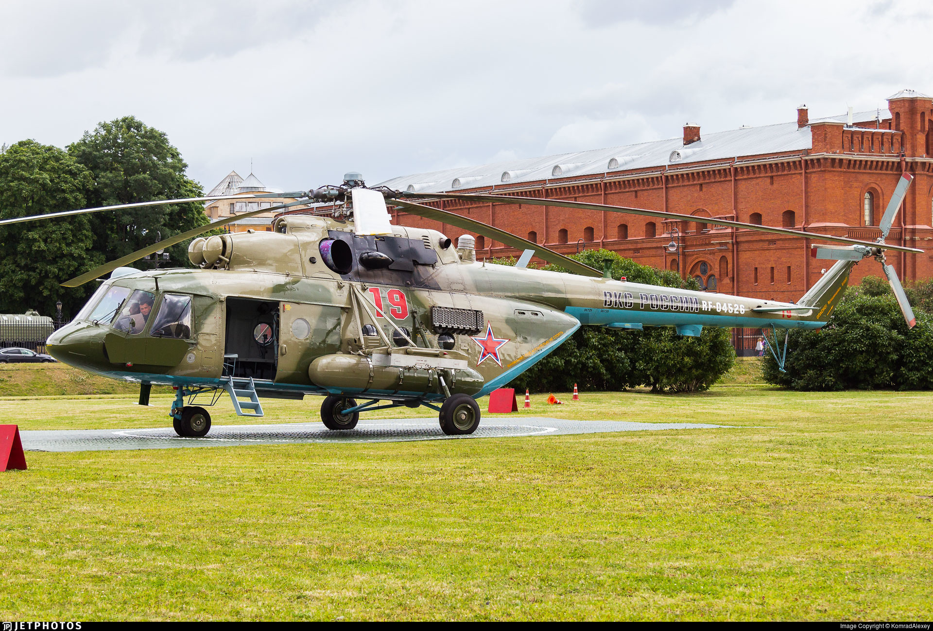 RF-04526 - Mil Mi-8AMTSh Hip - Russia - Air Force