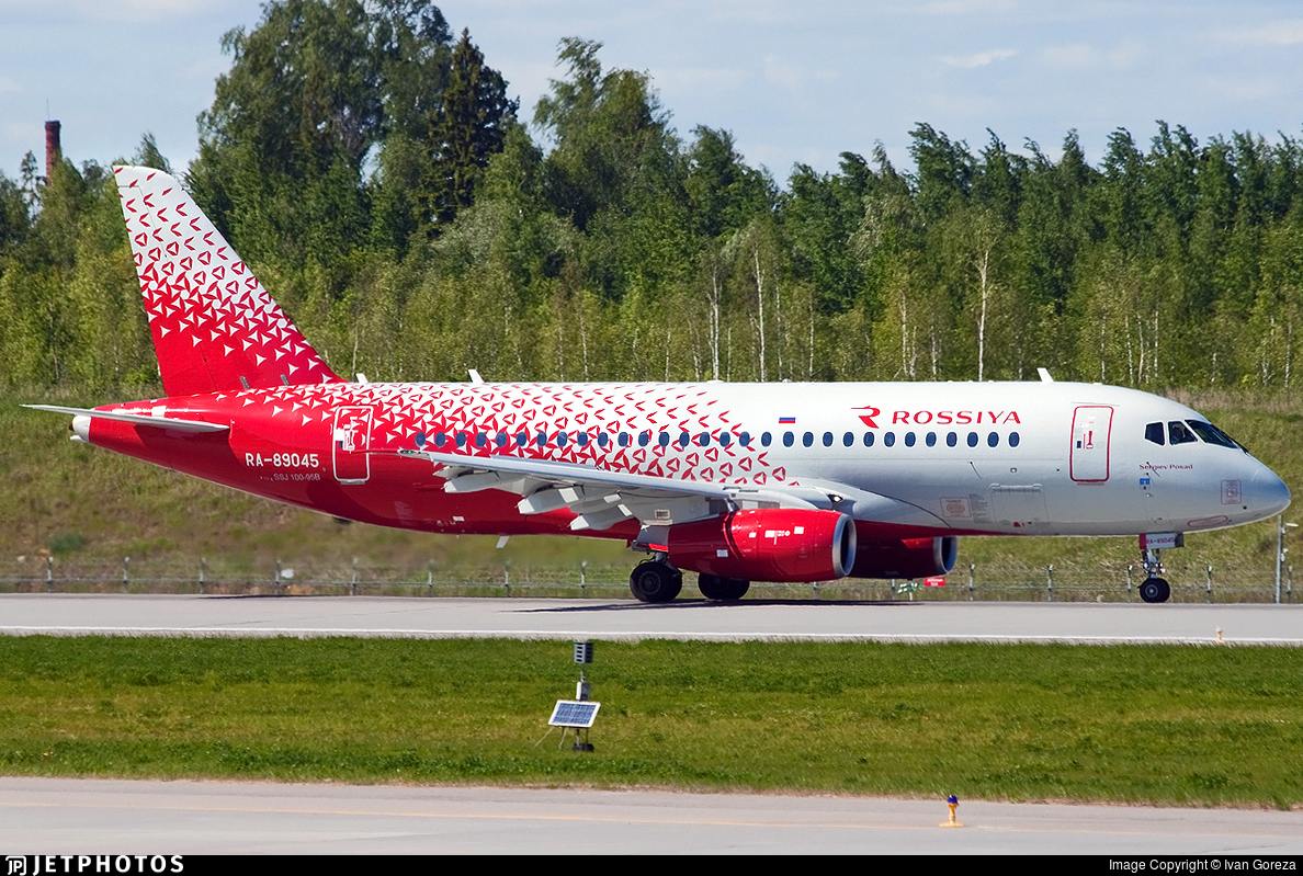 RA-89045 - Sukhoi Superjet 100-95B - Rossiya Airlines
