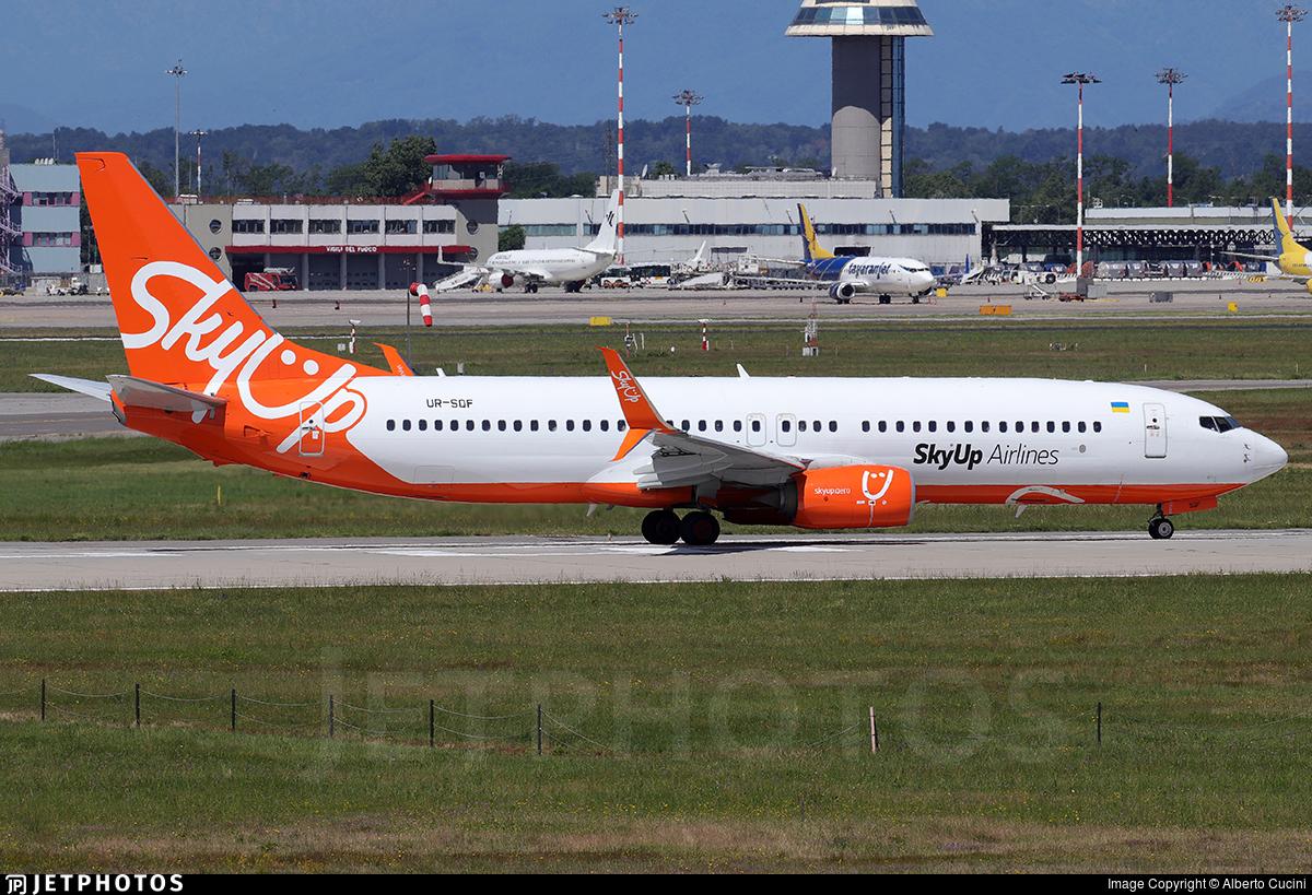UR-SQF - Boeing 737-8H6 - SkyUp Airlines