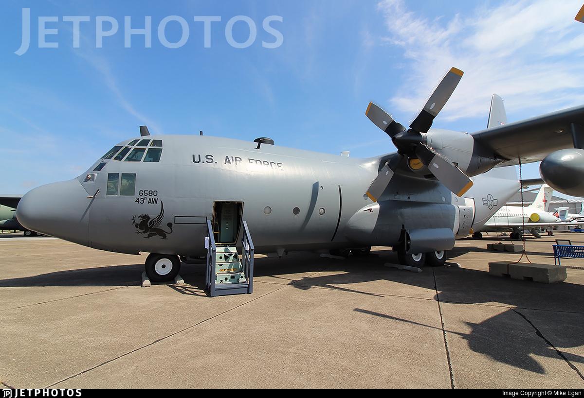 69-6580 - Lockheed C-130E Hercules - United States - US Air Force (USAF)