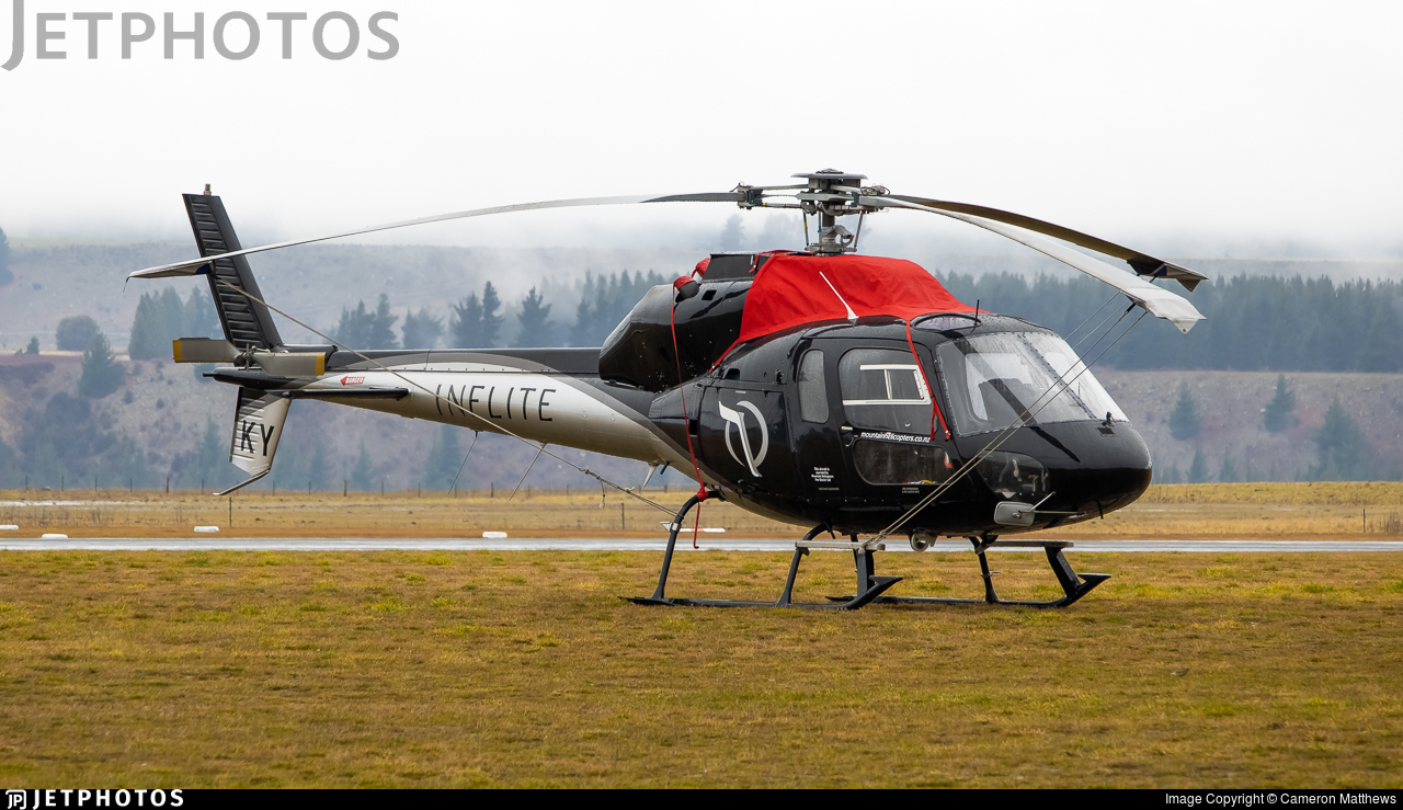 ZK-HKY - Aérospatiale AS 355F1 Ecureuil 2 - The Helicopter Line