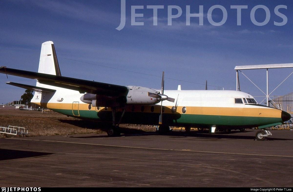 VH-EWZ - Fokker F27-500 Friendship - East-West Airlines