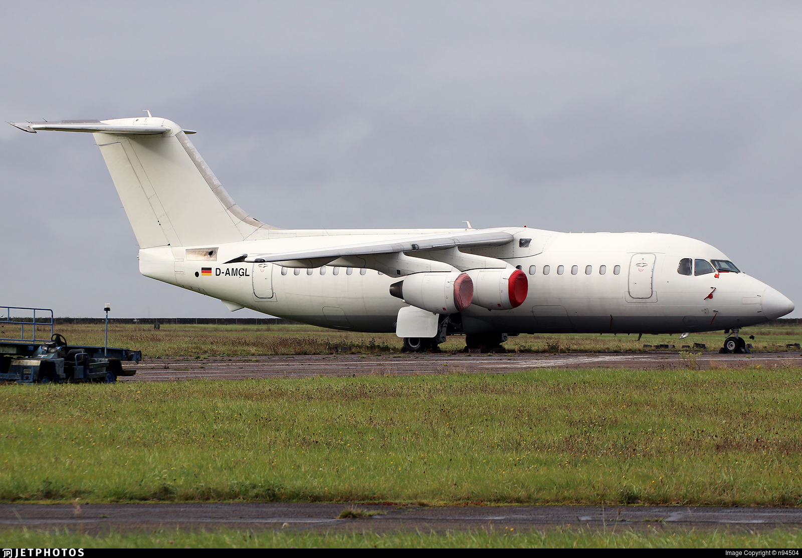 D-AMGL - British Aerospace BAe 146-200 - Pionair