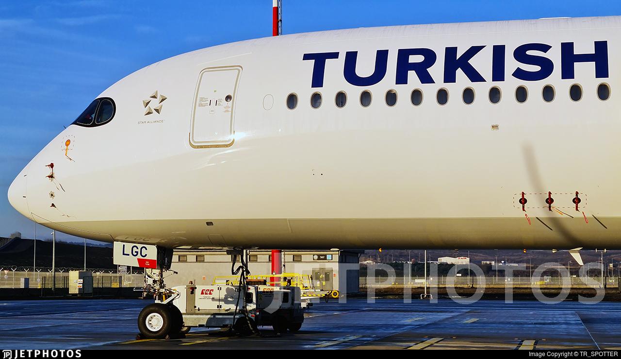 TC-LGC - Airbus A350-941 - Turkish Airlines