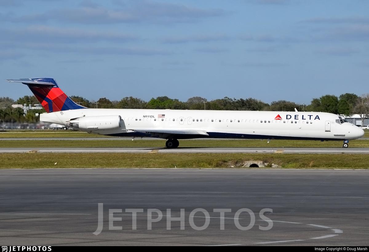 N991DL - McDonnell Douglas MD-88 - Delta Air Lines