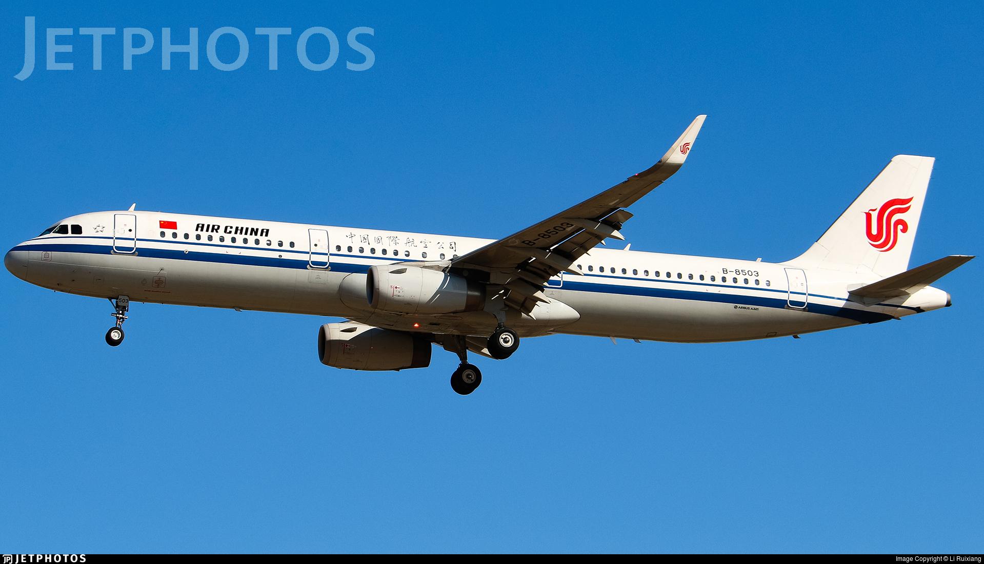 B-8503 - Airbus A321-232 - Air China