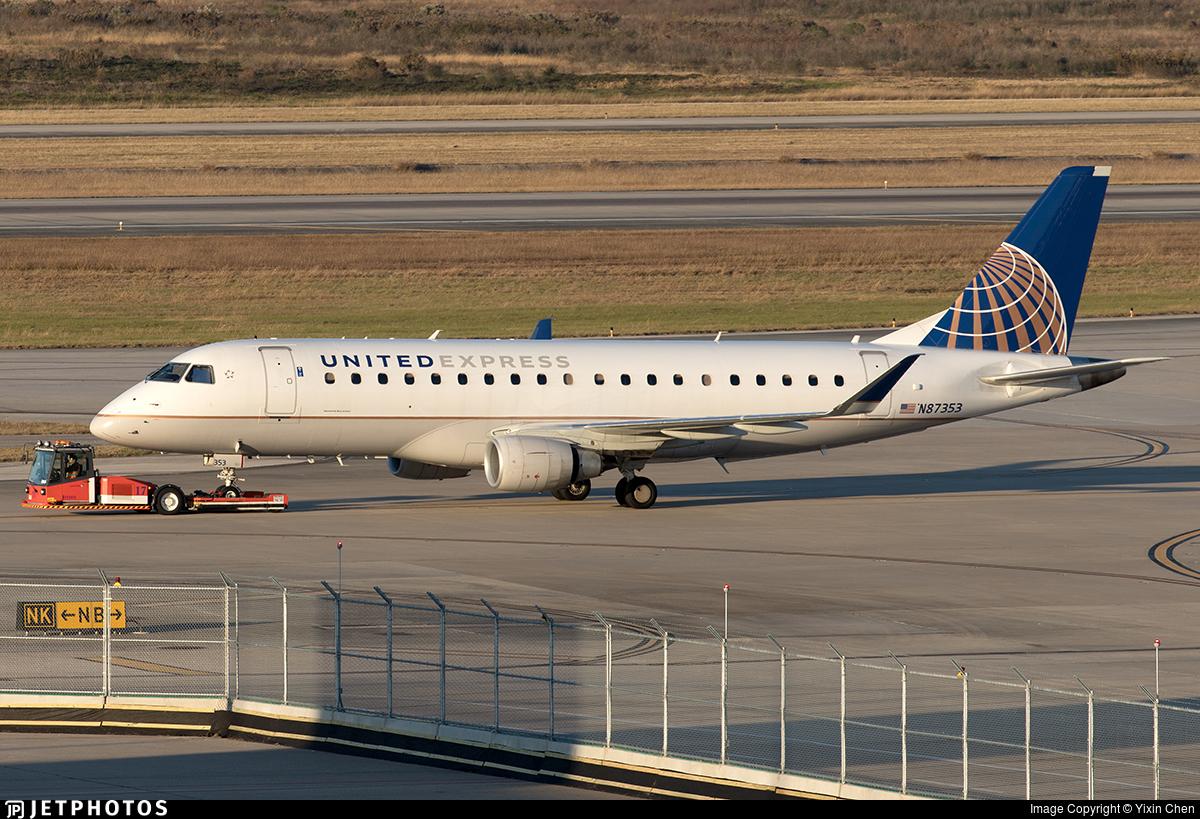 N87353 - Embraer 170-200LR - United Express (Mesa Airlines)