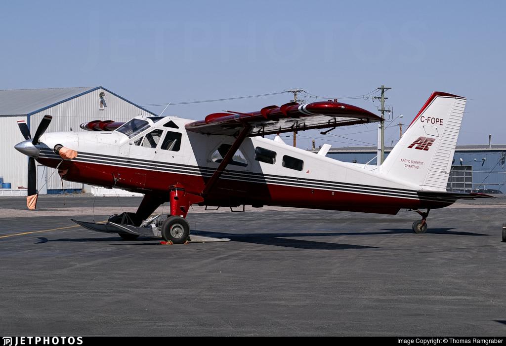 C-FOPE - De Havilland Canada DHC-2 Mk.III Turbo-Beaver - Arctic Sunwest Charter