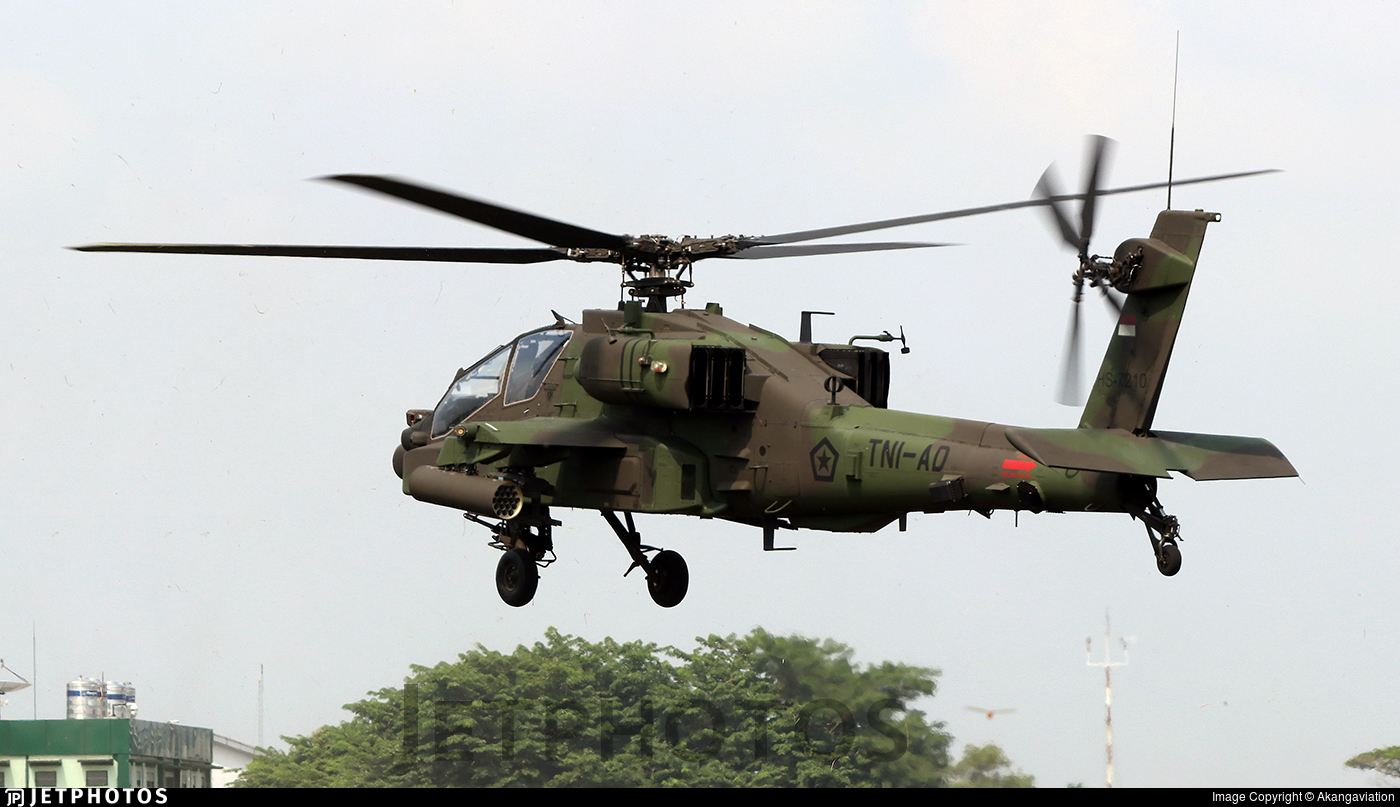 HS-7210 - Boeing AH-64E Apache Guardian - Indonesia - Army