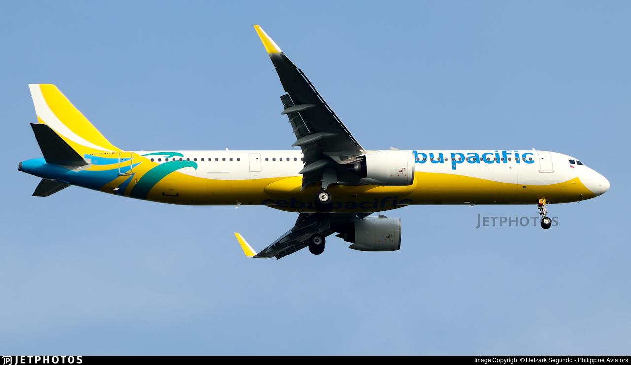 RP-C4126 - Airbus A321-271NX - Cebu Pacific Air