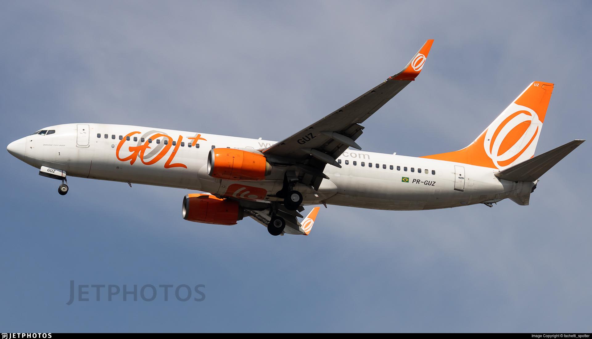 PR-GUZ - Boeing 737-8EH - GOL Linhas Aereas