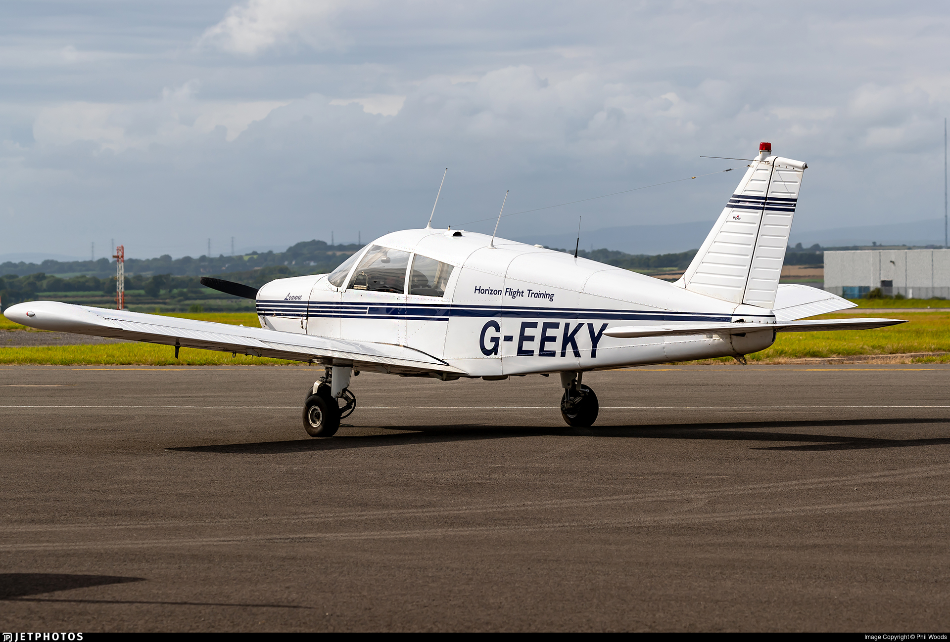 G-EEKY - Piper PA-28-140 Cherokee B - Horizon Flight Training