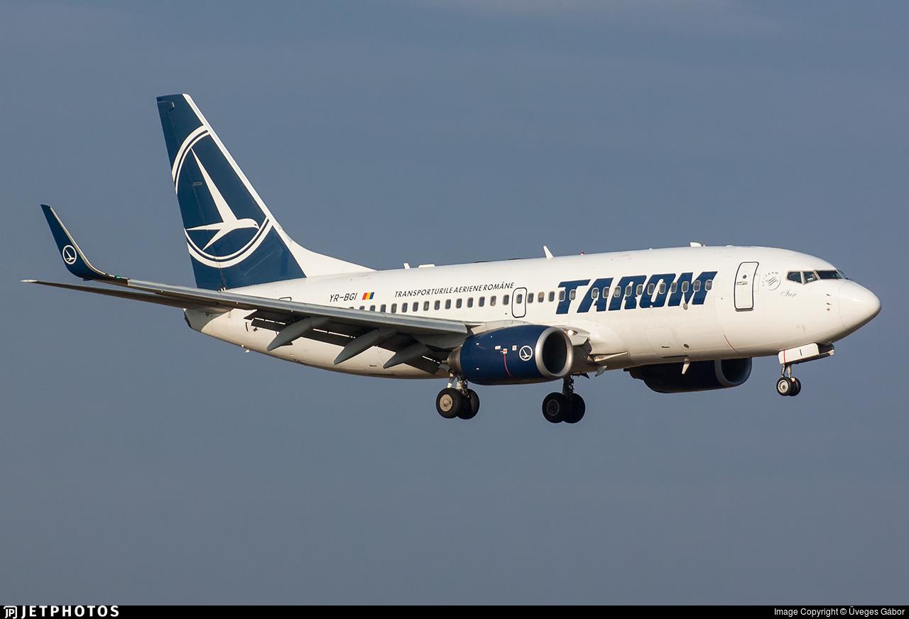 YR-BGI - Boeing 737-78J - Tarom - Romanian Air Transport