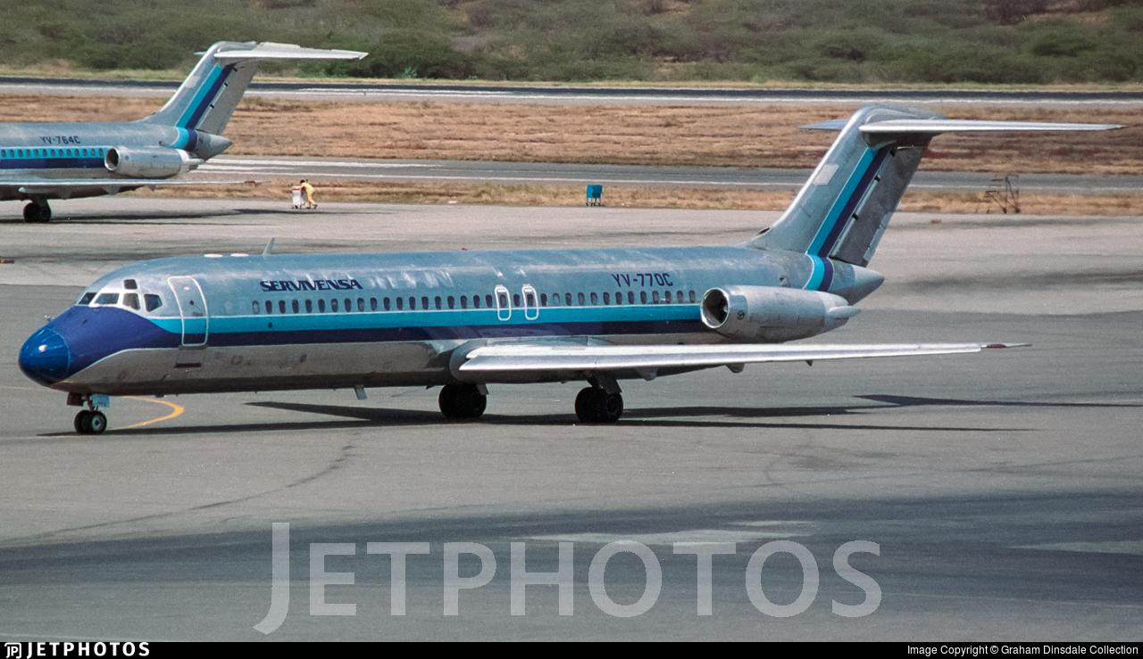 YV-770C - McDonnell Douglas DC-9-31 - Servivensa
